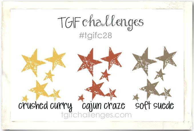 Cheer For All Seasons, Stampin' Up!, TGIF Challenge