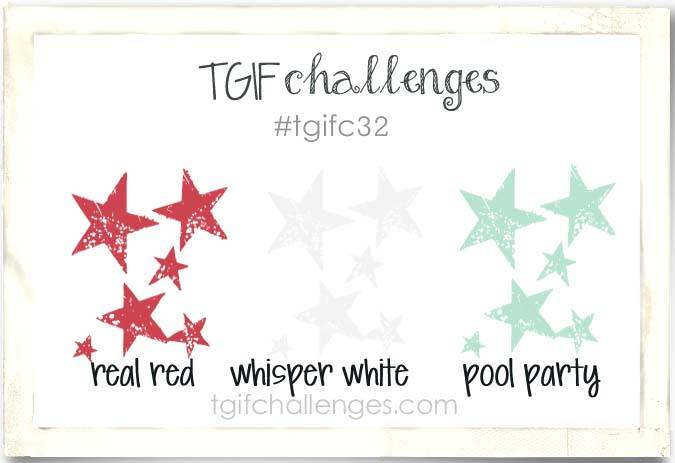 Color Challenge, TGIF, Stampin' Up!