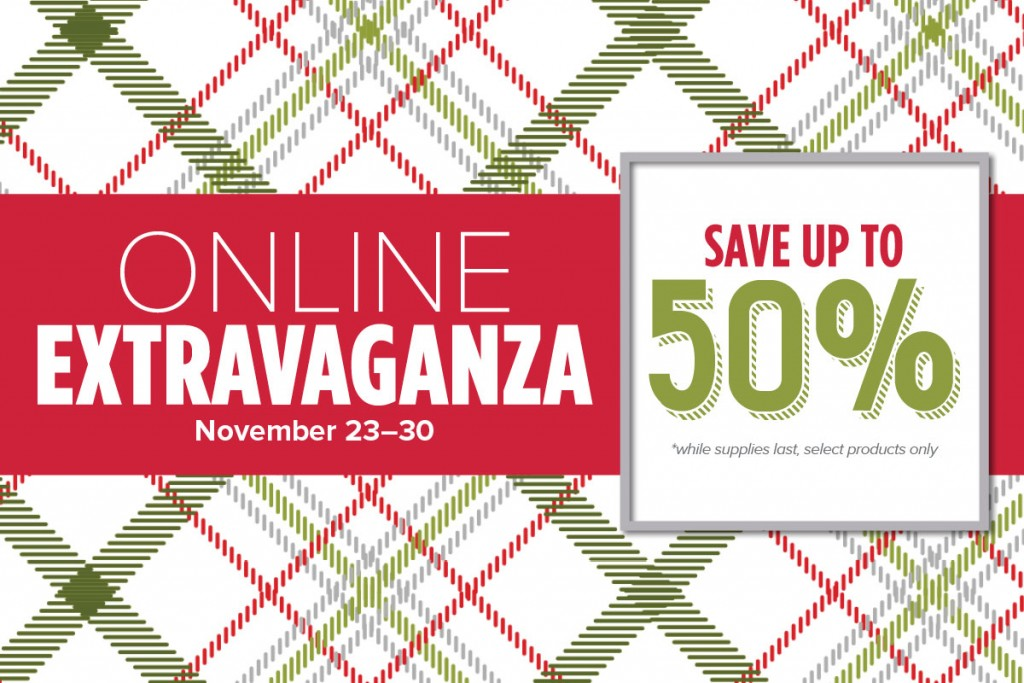 Extravaganza Sale, Stampin' Up!, Online Sale