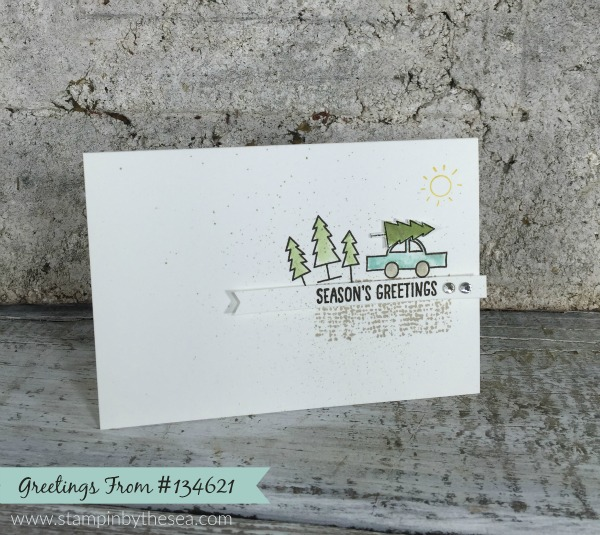 Greetings From Stamp Set, Stampin' Up!