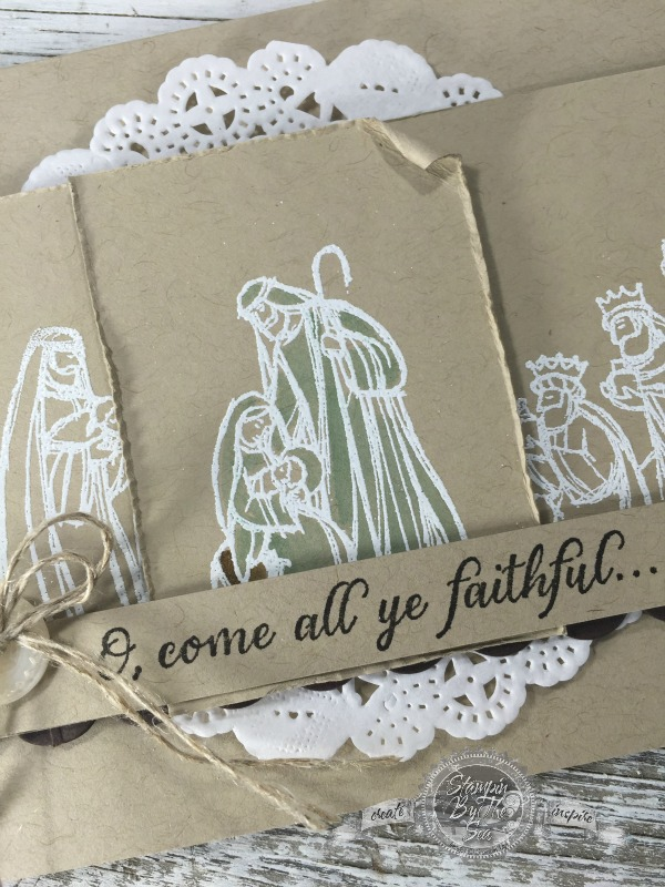 All Ye Faithful, Stampin' Up!