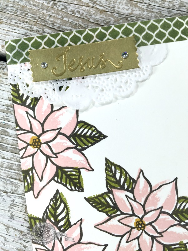 Omitting Technique, Reason for the Season stamp set, Stampin' Up!