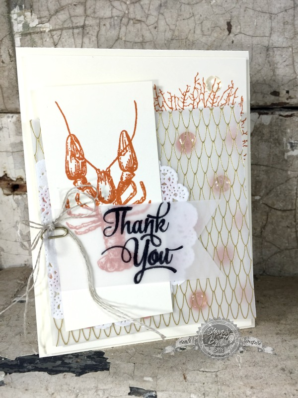By the Tide, Stampin' Up!