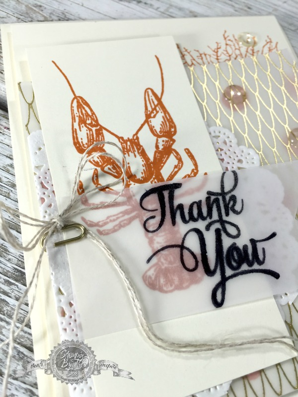 Handmade Cards for Him, By the Tide, Stampin' Up!