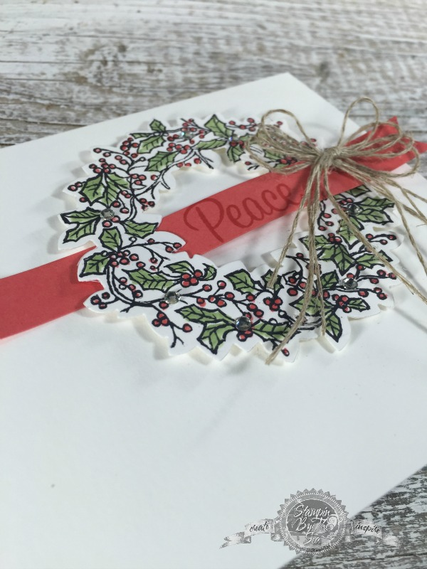 Peaceful Wreath, Stampin' Up!