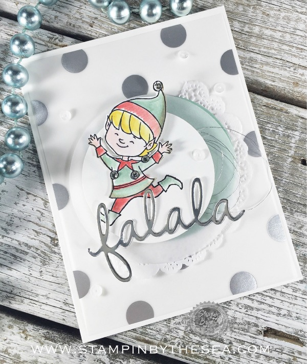 Christmas Cuties stamp set, Stampin' up!