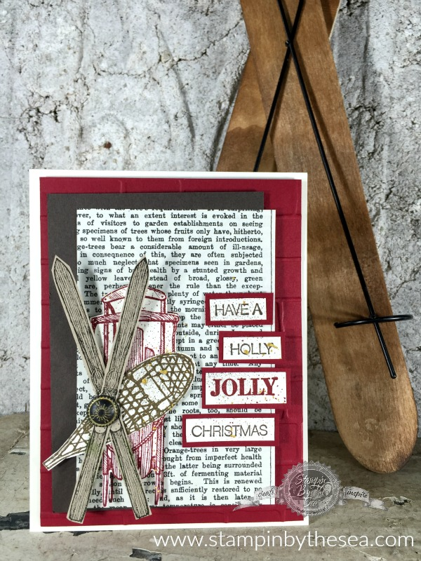 Jolly Christmas, Winter Wishes, Stampin' Up!