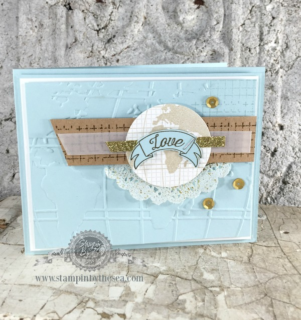 Going Global stamp set, Stampin' Up!