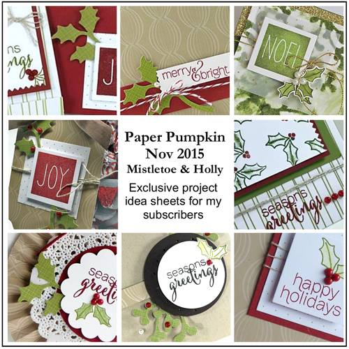 Gift Giving Made Easy, Paper Pumpkin,