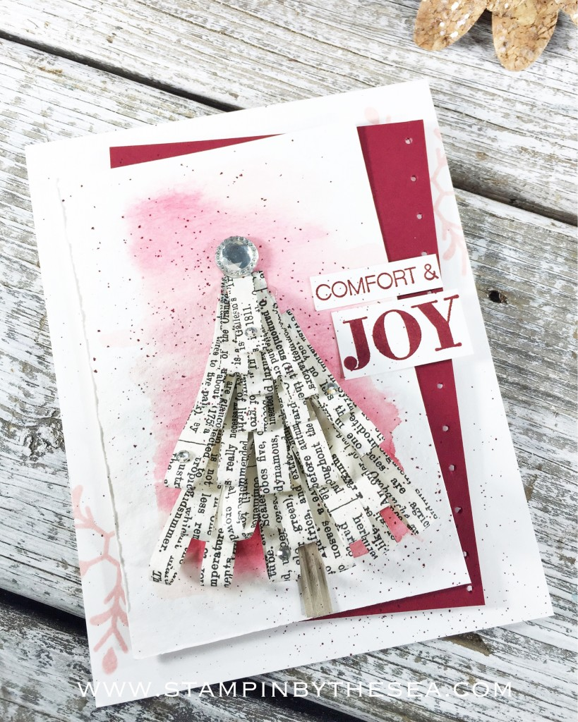 Layered Christmas Tree, Holly Jolly Greetings, Stampin' Up!