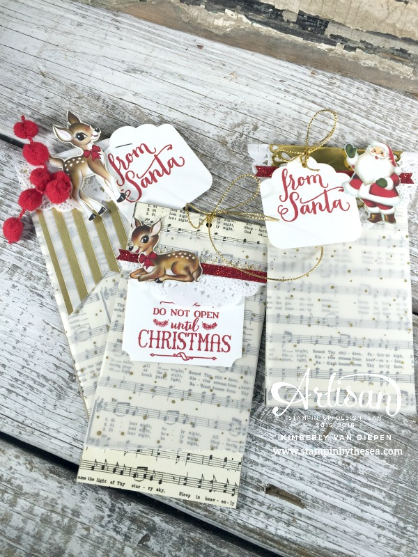 Christmas Tags & A GiveAway! - StampinByTheSea com