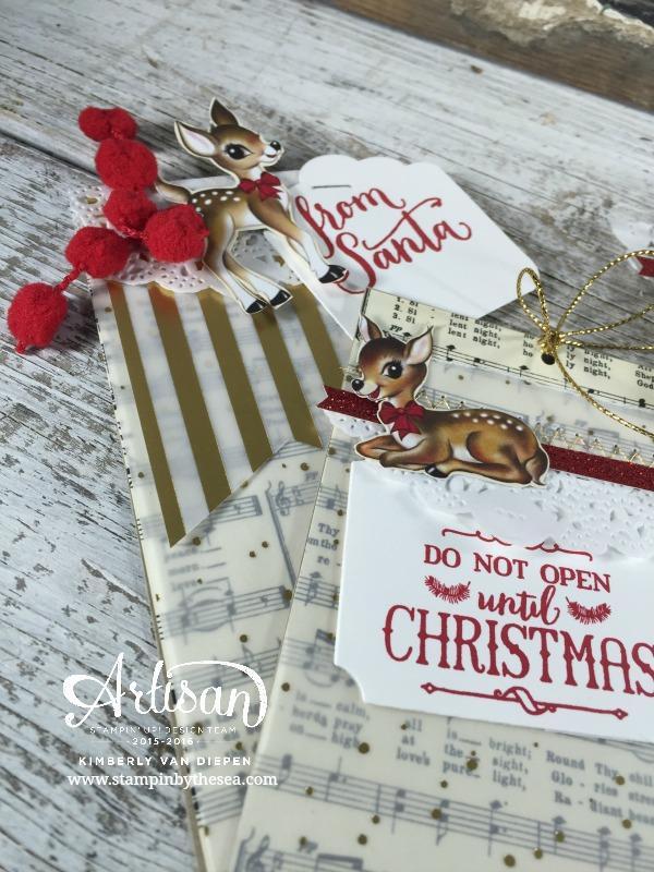 Christmas Tags, Stampin' Up!, Santa