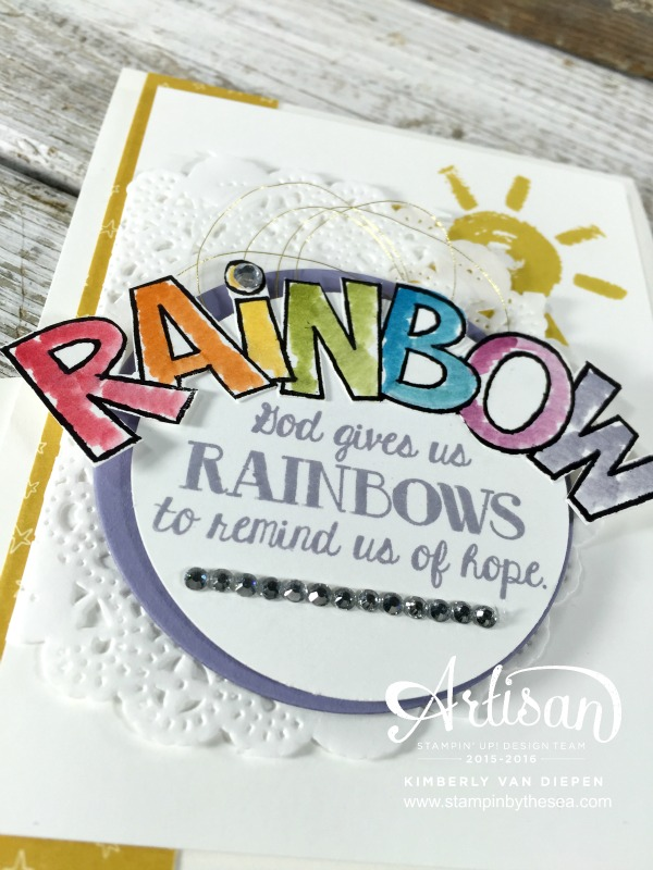 Over the Rainbow, Stampin' Up!,