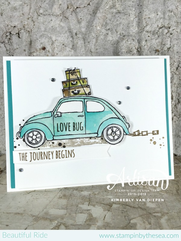 Love Bugs, Beautiful Ride, Stampin' Up!