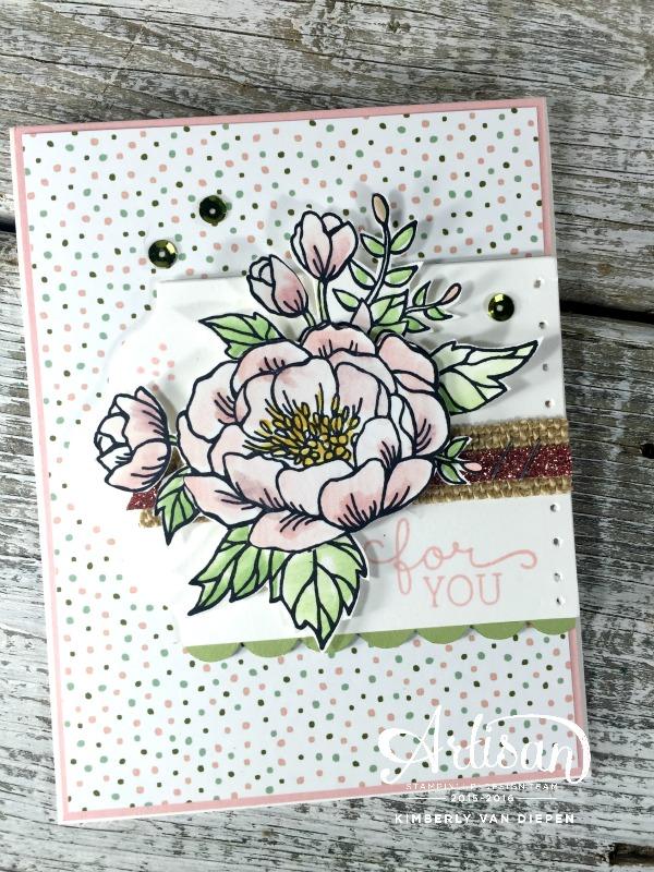 Artisan Blog Hop, Birthday Blooms, Stampin' Up!