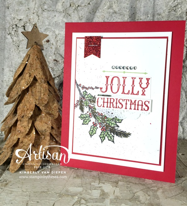 Holly Jolly Time, TGIF Challenge, Stampin' Up!