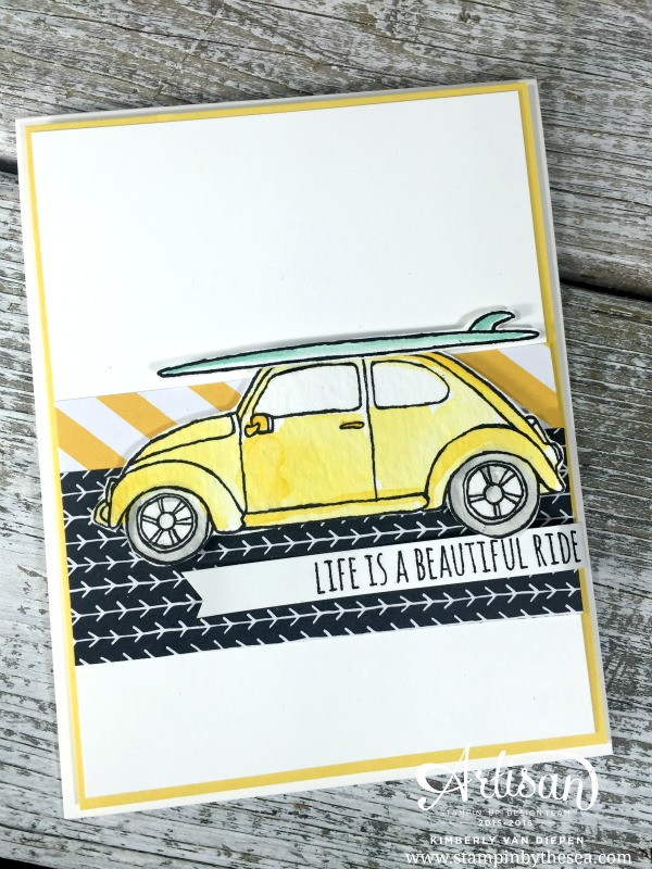 Refreshed and Renewed, Beautiful Ride Stamp Set, Stampin' Up!
