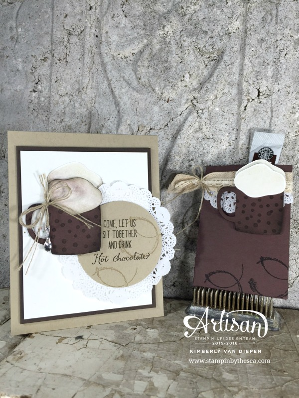 Hot Chocolate, Balloon Celebration Stamp set, Stampin' Up! Demonstrator