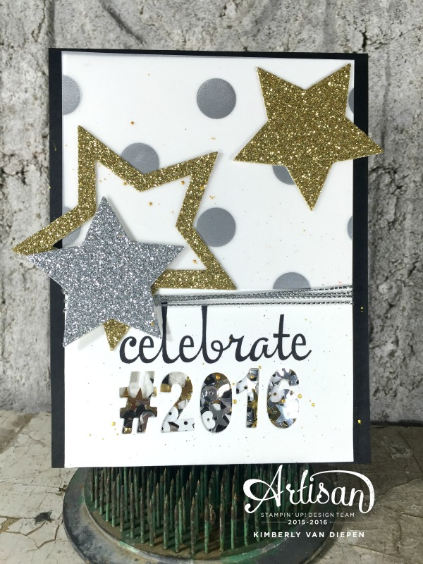 Happy New Year, Stampin' Up!, Fabulous Four stamp set
