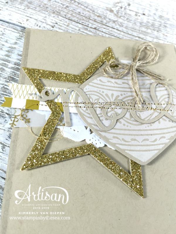 Embellished Ornaments, Creation Station Blog Hop, Stampin' Up!