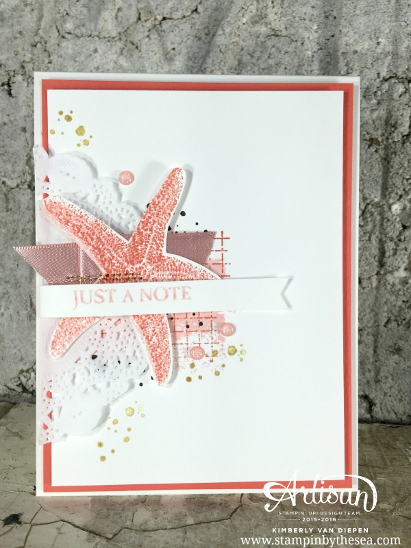 Simple Note, Picture Perfect, Stampin' Up!
