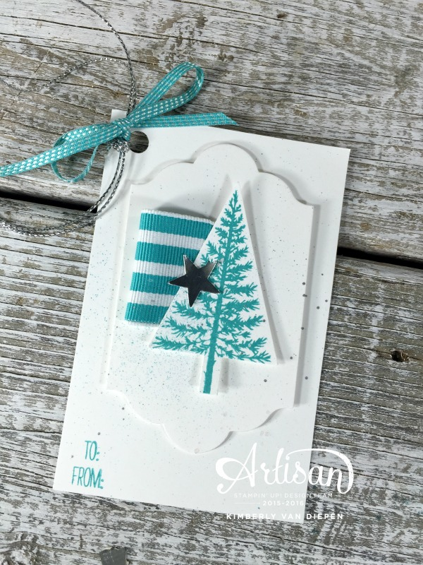 Box of Tags, Festival of Trees, Stampin' Up!