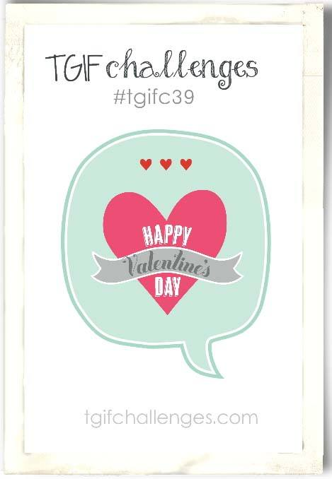 Happiness, Valentines, TGIF, Stampin' Up!