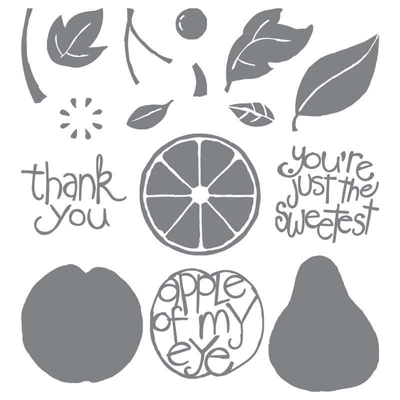 Apple of My Eye, Stampin' Up!, Kimberly Van Diepen