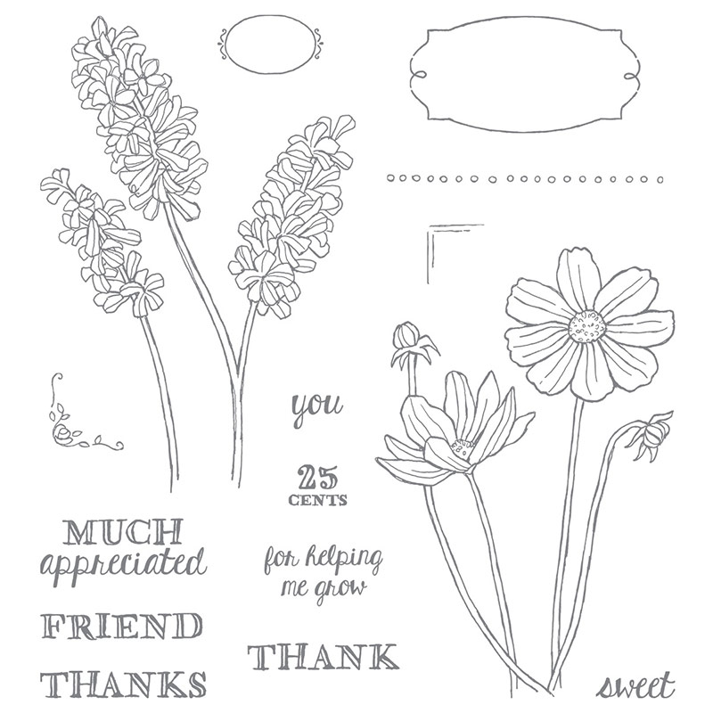 Create it Monday, Helping Me Grow, Stampin' Up!