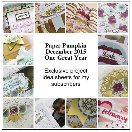 Paper Pumpkin, Stampin' Up!, Subscribe Today