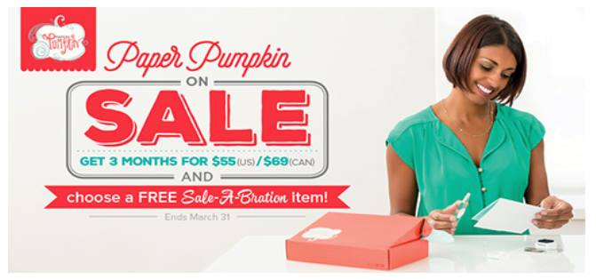 Paper Pumpkin, Stampin' Up! , Subscribe Today