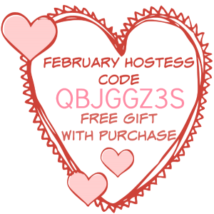 February Hostess Code, Stampin' Up!