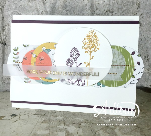Party, Flowering Fields, Stampin' Up!