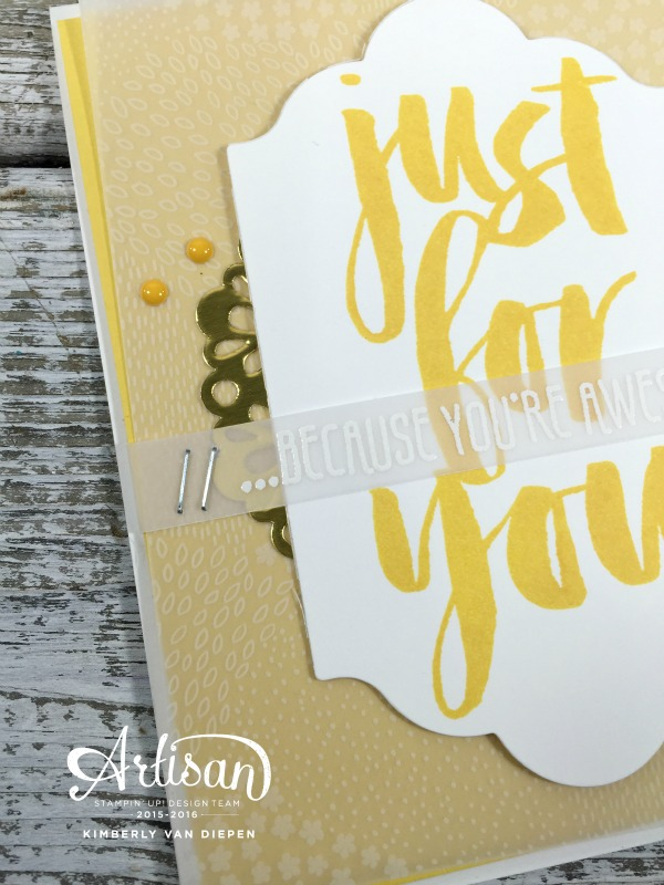 Awesome, Botanicals For You, Stampin' Up!