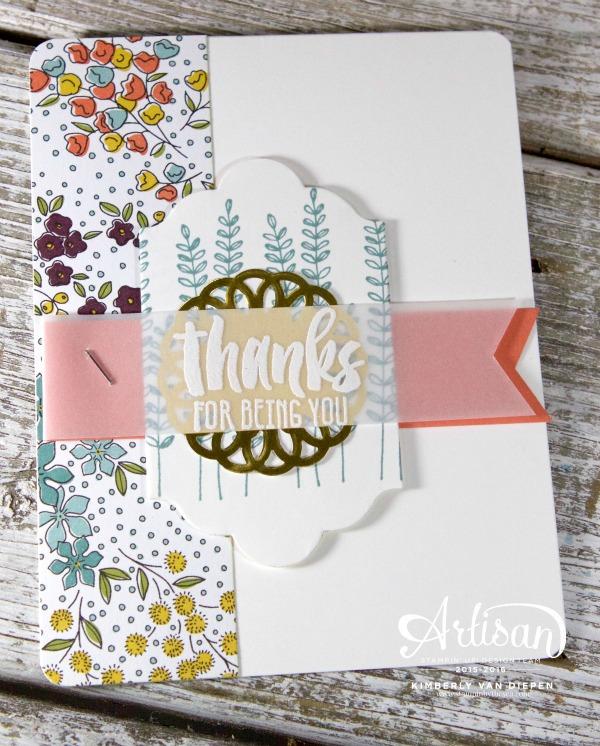 Garden, Flowering Fields stamp set, Stampin' Up!