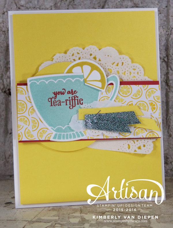 Quick Tip Tuesday, A Nice Cuppa, Stampin' Up!