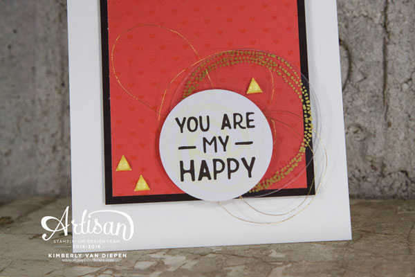 Happiness, Project Life, Stampin' Up!