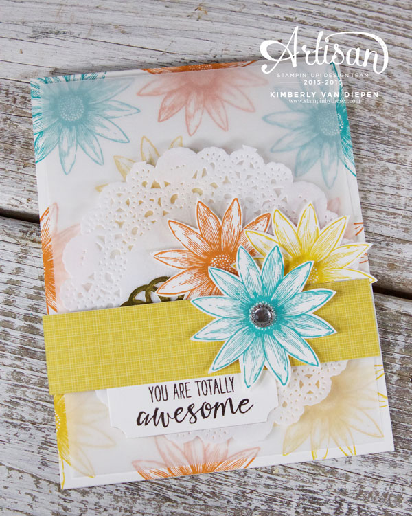 Grateful Bunch stamp set, Stampin' Up!, Wednesday WOW,