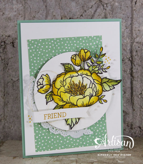 Creative Buffet, Birthday Blooms, Stampin' Up! Demonstrator