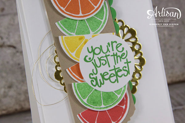 Color Combination, Apple of my Eye, Stampin' Up!