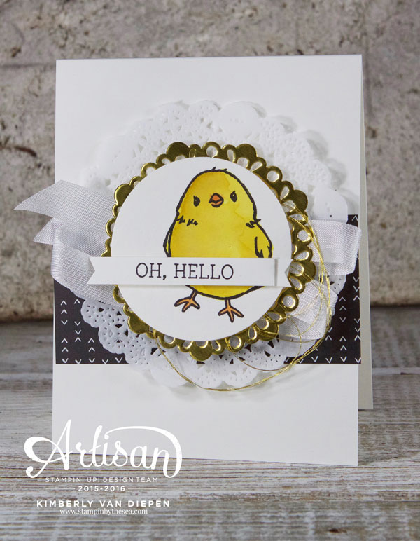 Honeycomb Happiness, Stampin' Up!