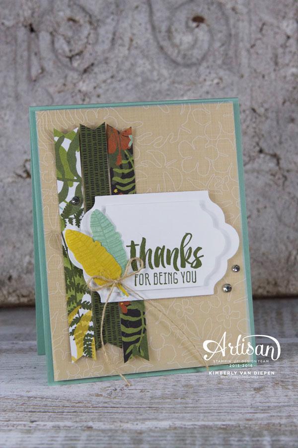 Botanical Blooms, Stampin' Up!, Thank You Cards