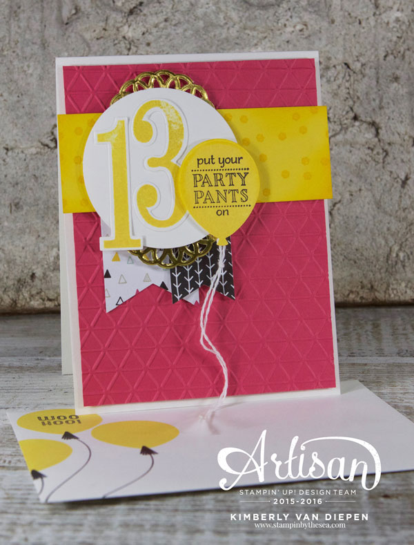 Party Pants, Stampin Up!, Sale-a-Bration