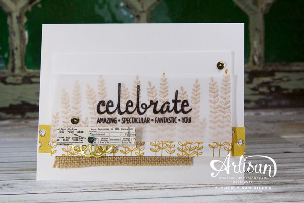 Flowers, Flowering Fields, Stampin' Up!