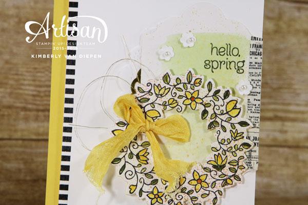 Circle of Spring, Stampin' Up!
