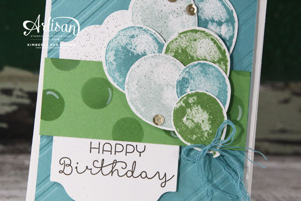 Bringing Birthday Back, Stampin' Up!
