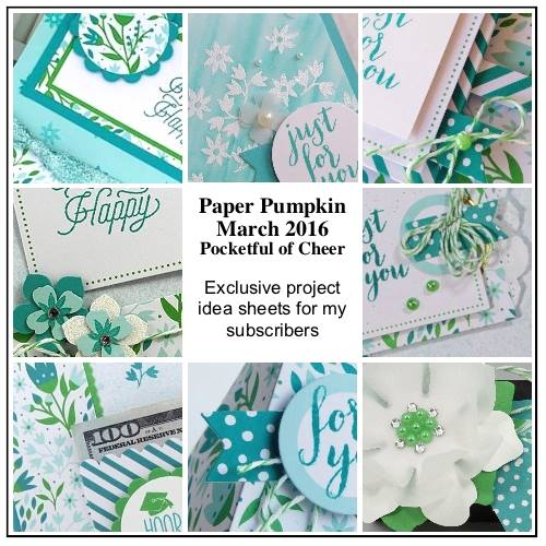 Exclusive, Paper Pumpkin, Stampin' Up!