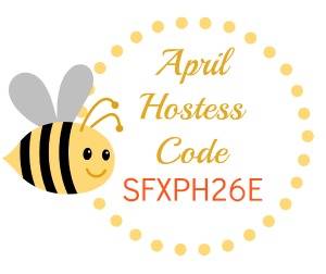 April Hostess Code, Stampin' Up!