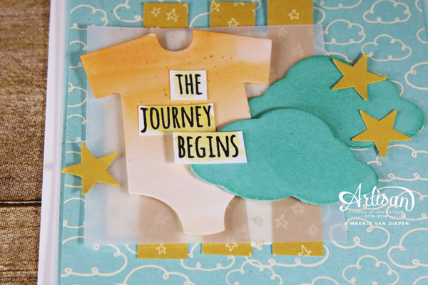 A Journey Begins, Baby, Stampin' Up!