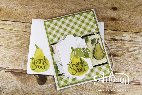 Stamps in the Mail, Apple of My Eye Stamp set, Stampin' Up!